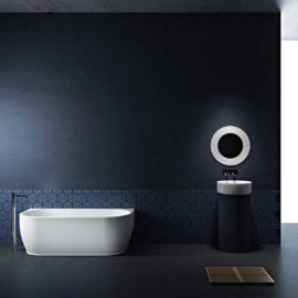 Ванна акриловая Vincea VBT-107, 1700*750*580, цвет белый, слив-перелив в комплекте, хром