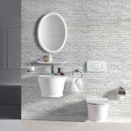 Унитаз подвесной безободковый Vincea Bordo , белый, ультратонкое soft-close сиденье