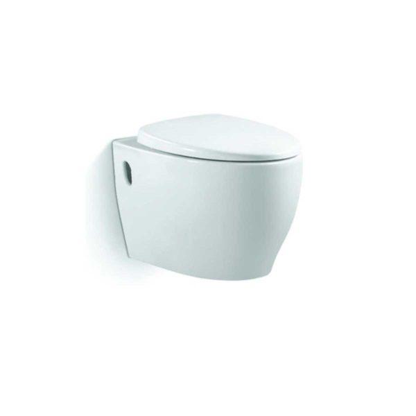 Унитаз подвесной Ovale VT1-15, ультратонкое soft-close сиденье